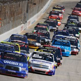 Darrell Wallace Jr Dover leads NASCAR Camping World Truck Series 2013