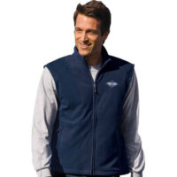 Cambridge Unisex Full Zip Fleece Vest - (price is for red, all other colors are + $5)