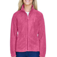 Cambridge Ladies's Full Zip Fleece Jacket - (price is for red, all other colors are + $5)